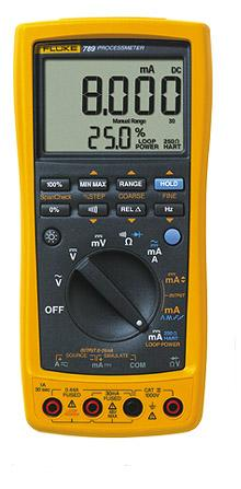 FLUKE 789, Process Meter with 24V Loop Power Supply, Frequency Measurement to 20KHz.